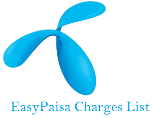 EASYPAISA CHARGES
