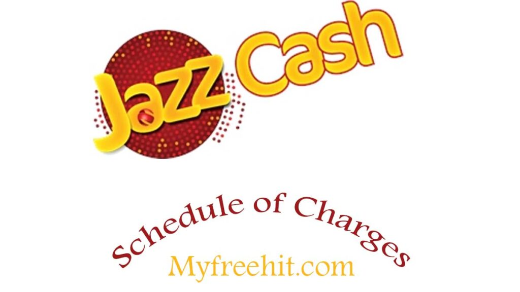 Jazzcash charges detail