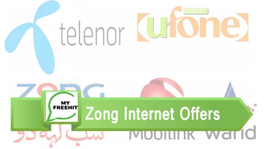 zong internet frature